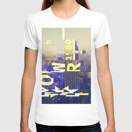 GLITCH CITY #65: New York T-shirt