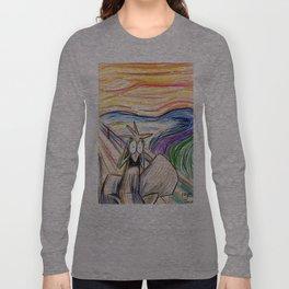 Squirrel Scream Long Sleeve T-shirt