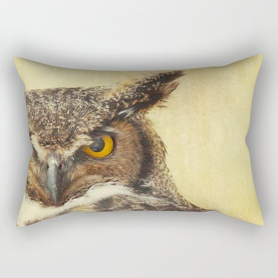 Hoo Hoo Rectangular Pillow