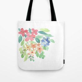 Cluster of flowers Tote Bag