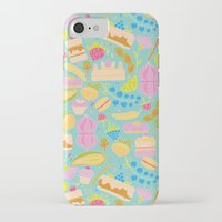 baking iPhone & iPod Cases featuring Baking pattern by Calidurge