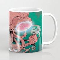 cthulhu Mugs featuring cthulhu by Nahum Ziersch