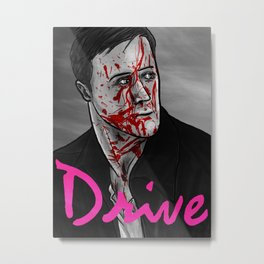 Drive Poster v3 Metal Print