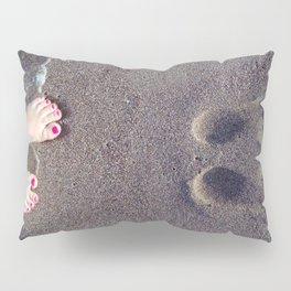 Footprint Pillow Sham