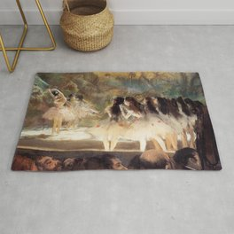Ballet At The Paris Op Ra 1877 78 By Edgar Degas | Reproduction | Famous French Painter Rug
