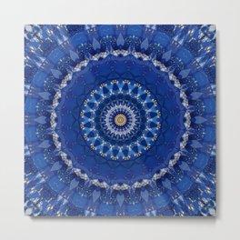Mandala star dust Metal Print