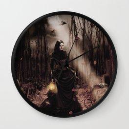 Halloween Queen 4 Wall Clock