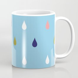 Happy rain drops Coffee Mug