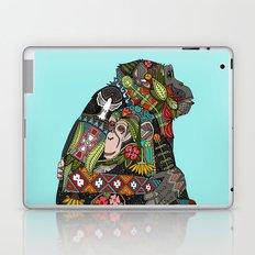 chimpanzee love sky Laptop & iPad Skin