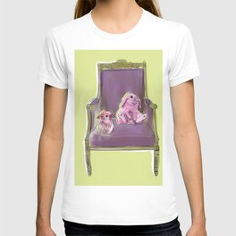 animals in chairs #13 Bunnies T-shirt