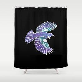 Tui New Zealand Bird Shower Curtain