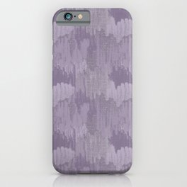 Industrial Abstract Texture in Lavenders iPhone Case
