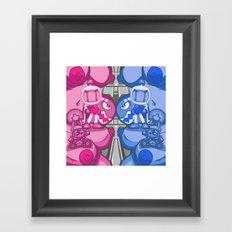 Combo Breaker! Framed Art Print