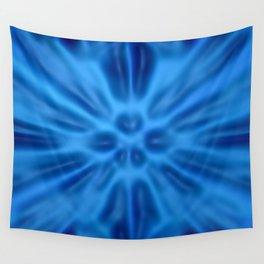 Blue plastification Wall Tapestry