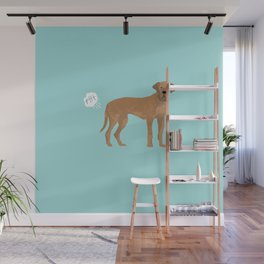 great dane funny farting dog breed gifts Wall Mural