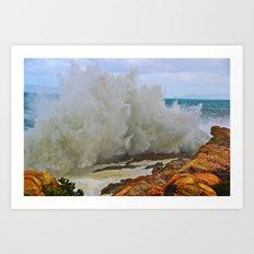 Super Wave Art Print