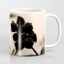 raindrops and hedge berries Coffee Mug