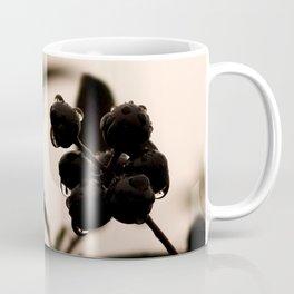raindrops and hedge berries Coffee Mug