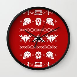 Merry Christmas A-Holes Wall Clock
