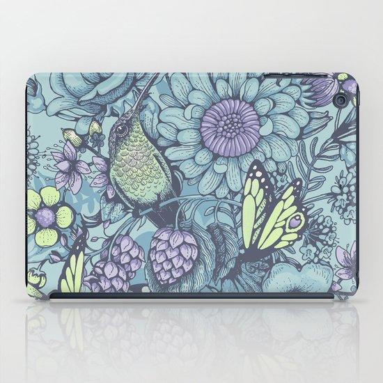 Beauty (eye of the beholder) - aqua version iPad Case