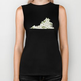 Virginia in Flowers Biker Tank