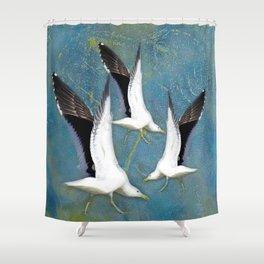Jeffy Seagull Shower Curtain