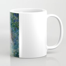Green Lantern Abstract Painting  Coffee Mug