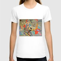 kandinsky T-shirts featuring Kandinsky Composition Study by Andrew Sherman