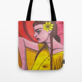 Forsythia Levolor Tote Bag