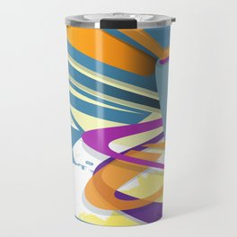 Graff abstract Travel Mug