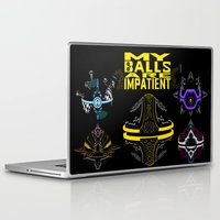justice league Laptop & iPad Skins featuring LEAGUE OF LEGENDS . ORIANNA's Pet Ball by AngeltwoZion
