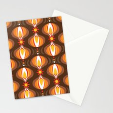 Oohladrop Brown Stationery Cards