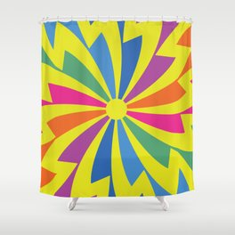 Retro design 60s Shower Curtain