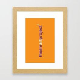 The Smart Project Framed Art Print