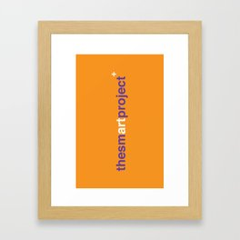The Smart Project Framed Art Print