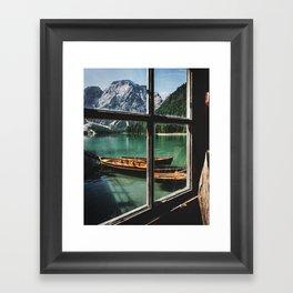 Road Trip 26 - Dolomites Framed Art Print