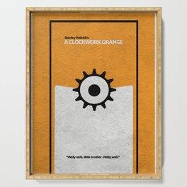 A Clockwork Orange Serving Tray