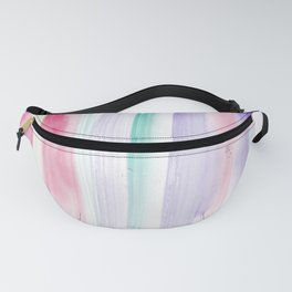 9  | 181203 Watercolour Patterns Abstract Art Fanny Pack