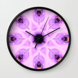 Free To Run Mandala Abstract Design Wall Clock