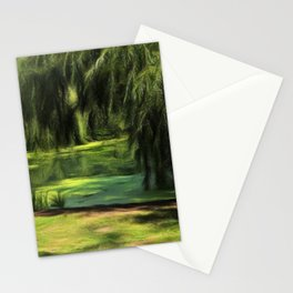 Central Park Pond Stationery Cards