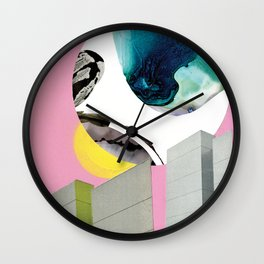 Blue Giant Wall Clock
