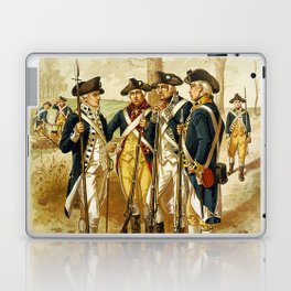 Infantry: Continental Army 1779-1783 by H.A. Ogden (1879) Laptop & iPad Skin