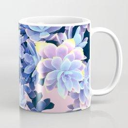 Cactus Fall - Blue and Pink Coffee Mug