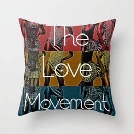 Flashy Moves Throw Pillow
