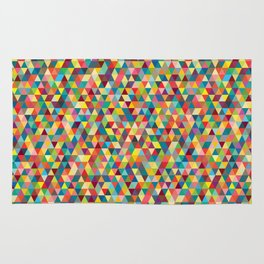 Colourful Tessellation Rug