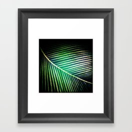 Green Collection Framed Art Print