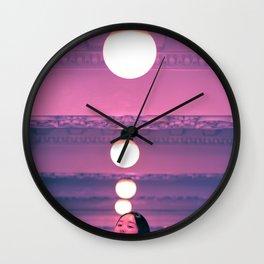 Pop Girl Light Wall Clock