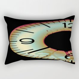 Time Waits For Nobody Rectangular Pillow