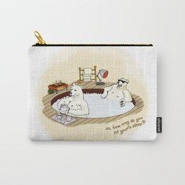 Polar Bear Hot Tub Carry-All Pouch