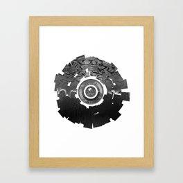 Metal Sun Framed Art Print